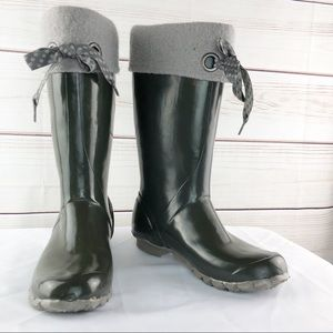 SH167 Bogs  Alex Solid Rubber Water Proof Boots